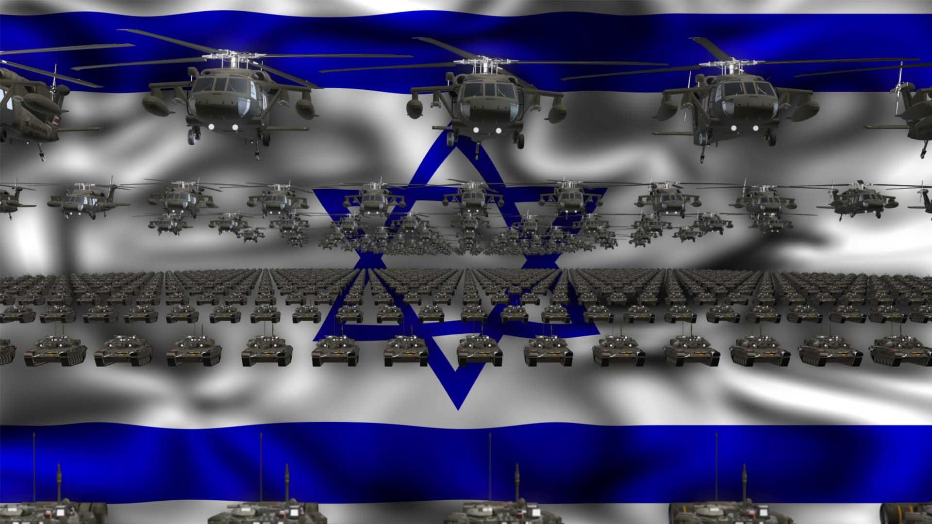 Israel video background vj loop