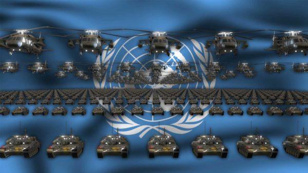 UN Army video background vj loop