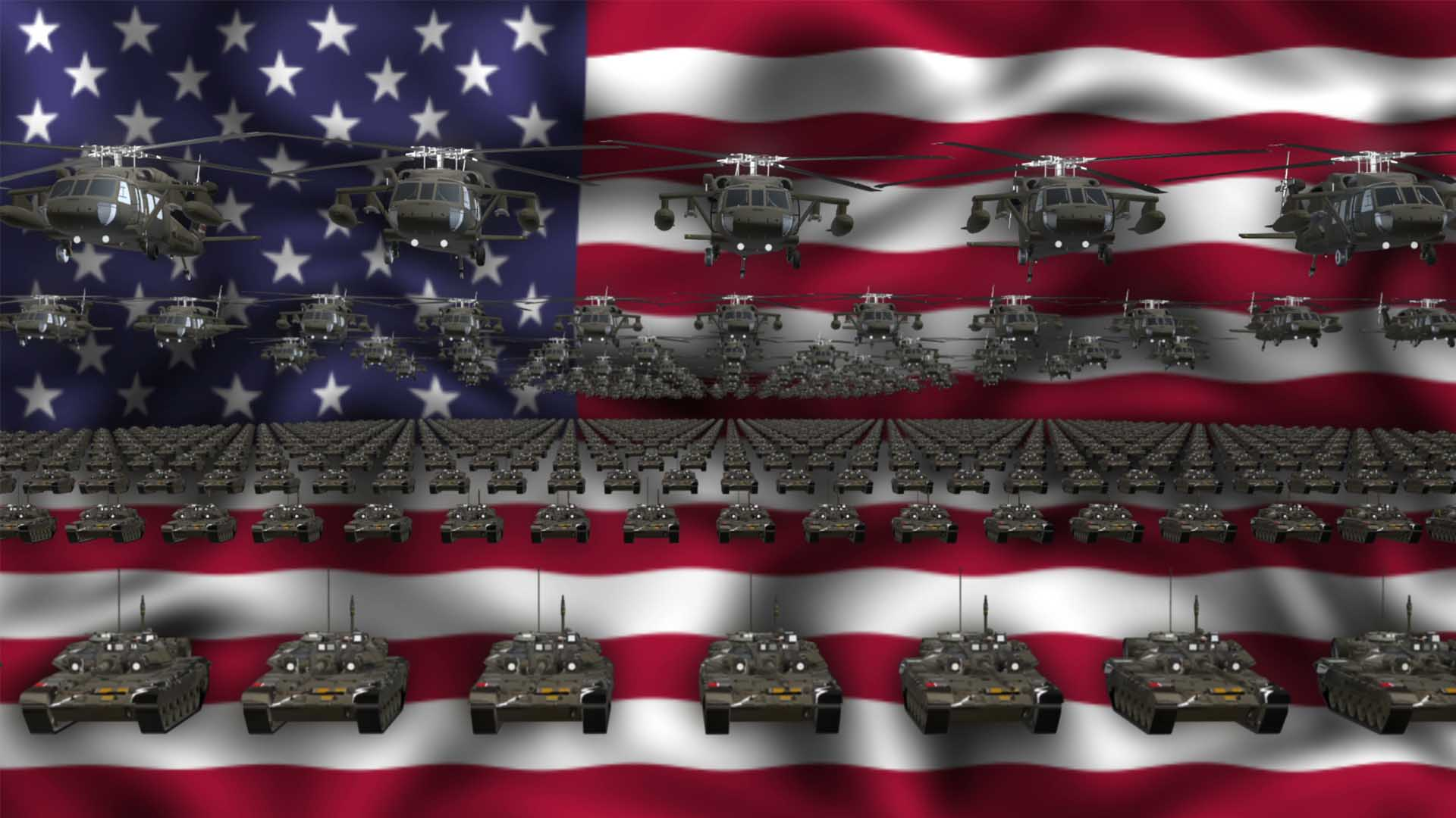 USA Army video background vj loop