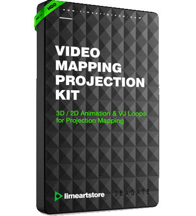 VIdeo-mapping-hdd kit