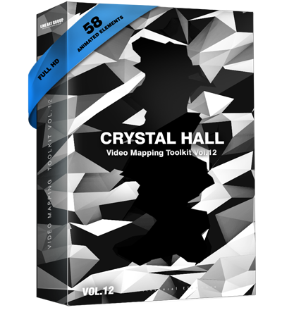 Video Mapping Toolkit Vol.12 - Crystal Hall