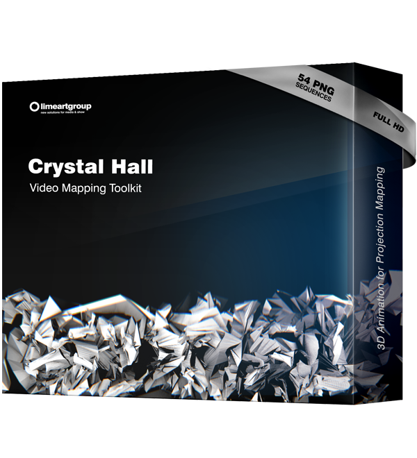 Crystall Hall video mapping toolkit