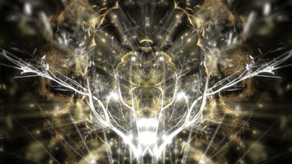 Gold_Abstract_Pattern_Golden_Tree_Video_Footage_Animated_motion_background_vj_loop