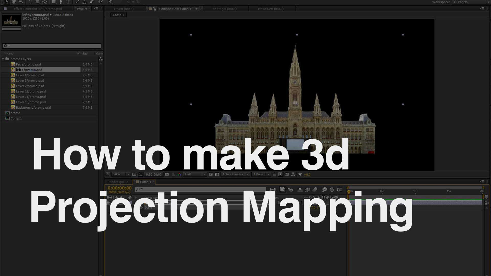 how to make video mapping
