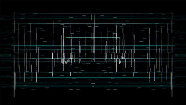 glitch lines video background