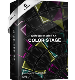 color stage visuals screen edm