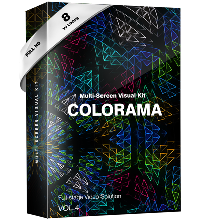 Colorama vj loops