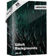 Glitch Backgrounds VJ Loops