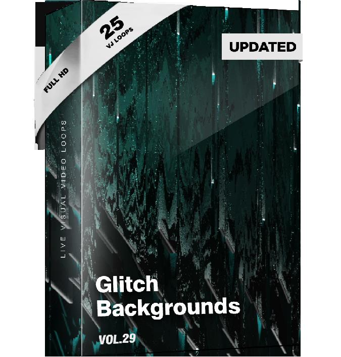 Glitch Backgrounds VJ Loops