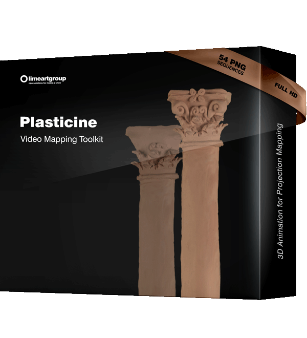 Plasticine Animation Video Mapping