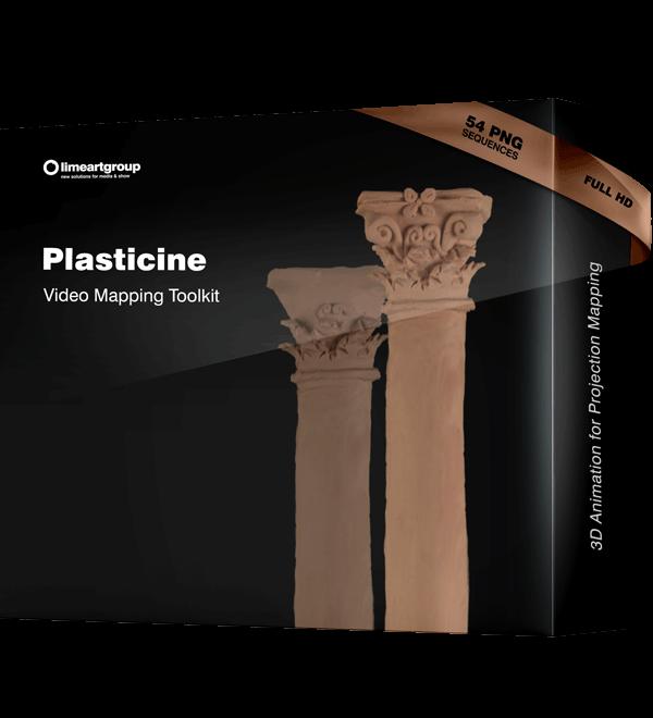 Plasticine Animation Video Mapping