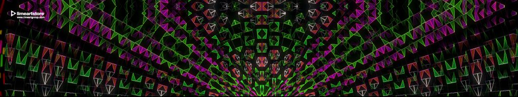 vj loops color visuals festival