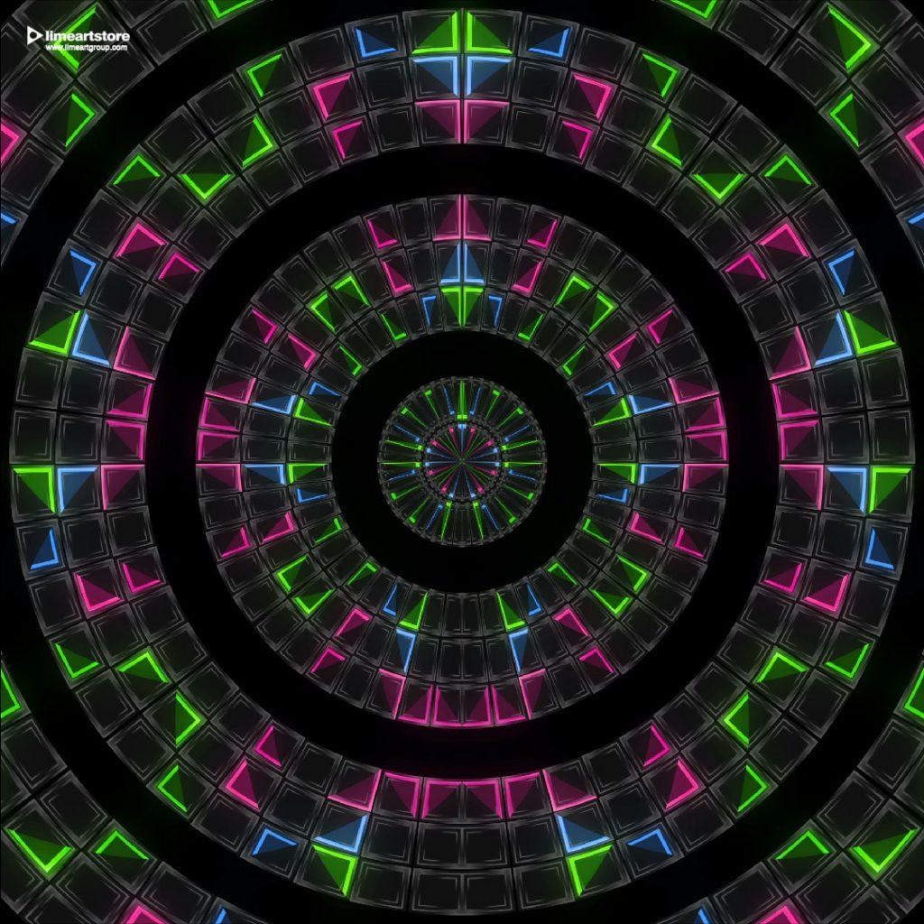 edm stage floor visuals vj loops