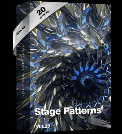 Stage-Patterns VJ Loop Pack