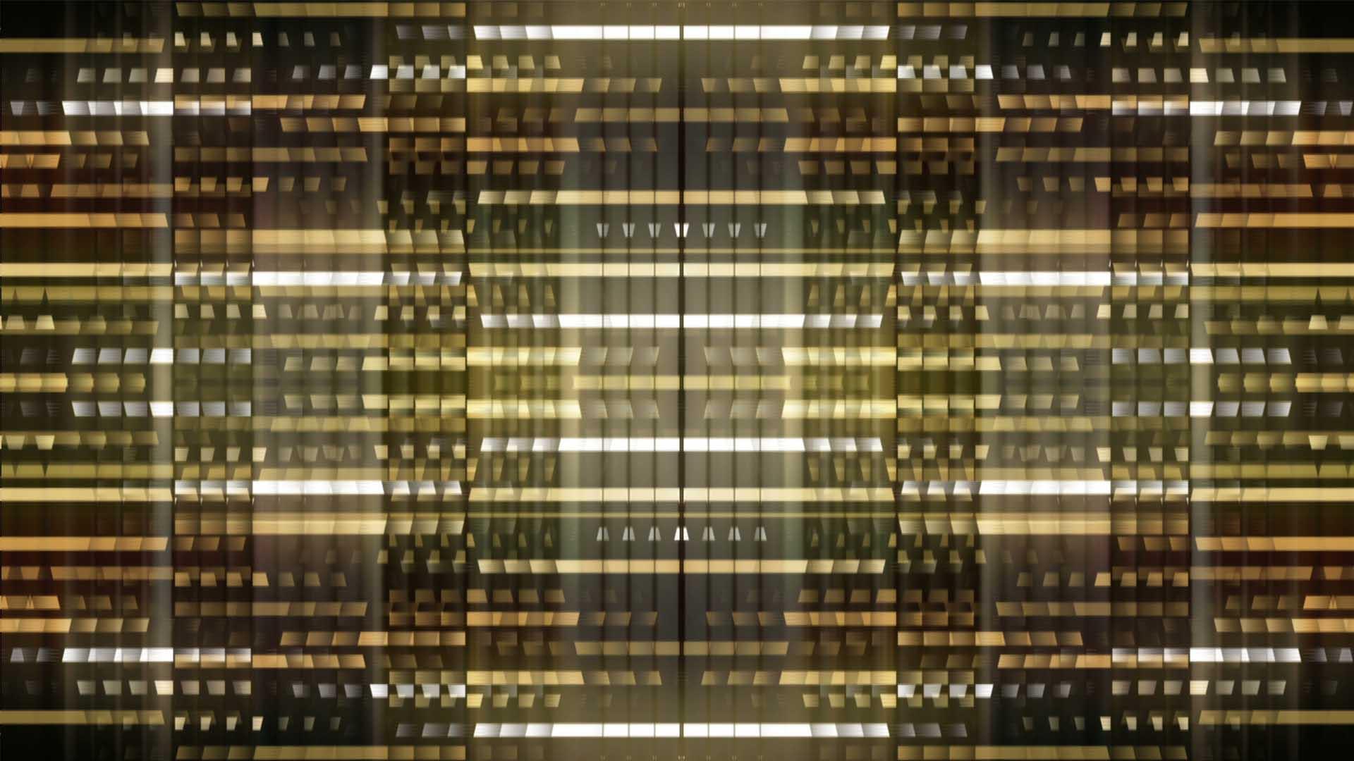 golden pattern video background