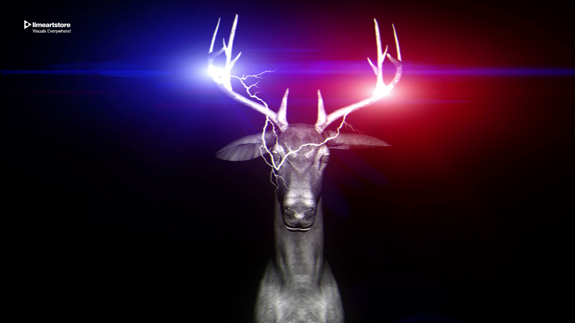 deer police light