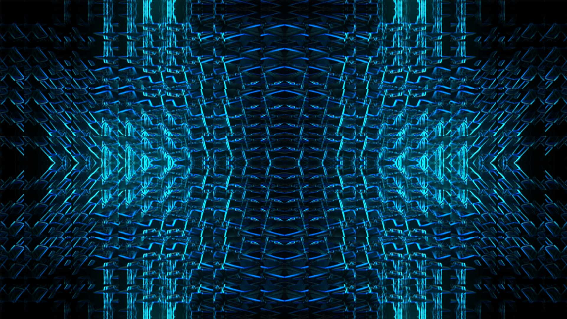 blue video background