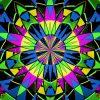 Glowing Room vj loops video footage