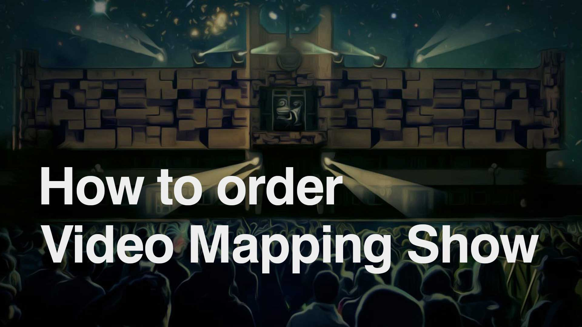 3d video mapping projection