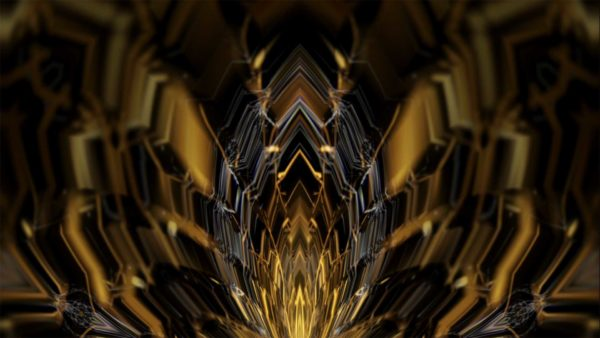 abstract gold flower video wallpaper