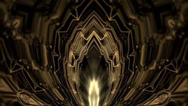 gold animated background
