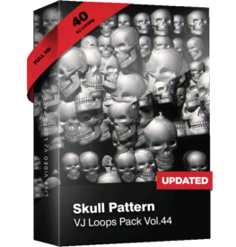 VJ_Loops_Pack_44_Skull_Patern