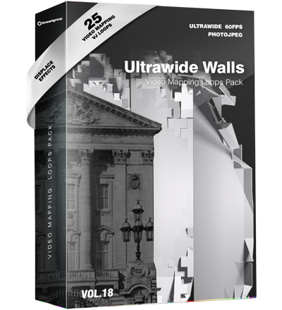 video mapping ultrawide