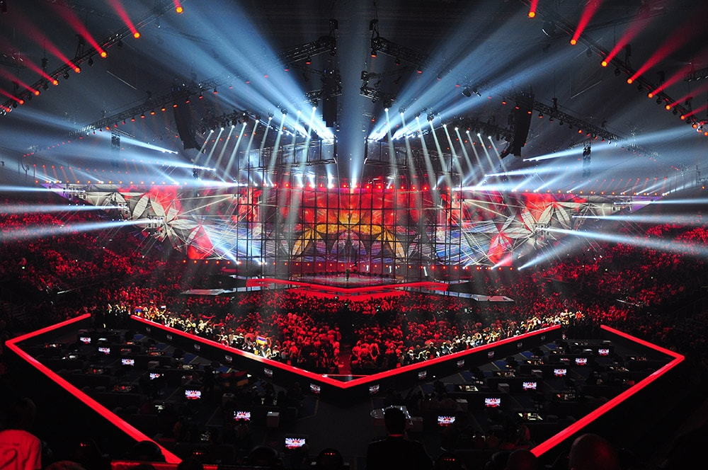 Event Visuals eurovision