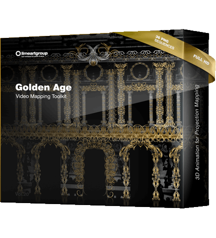 Golden age classic animation video mapping toolkit