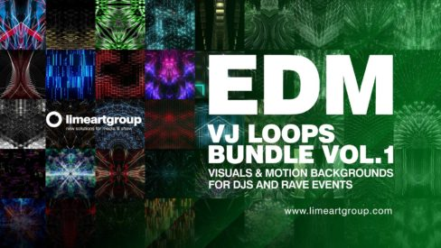 edm vj loops bundle