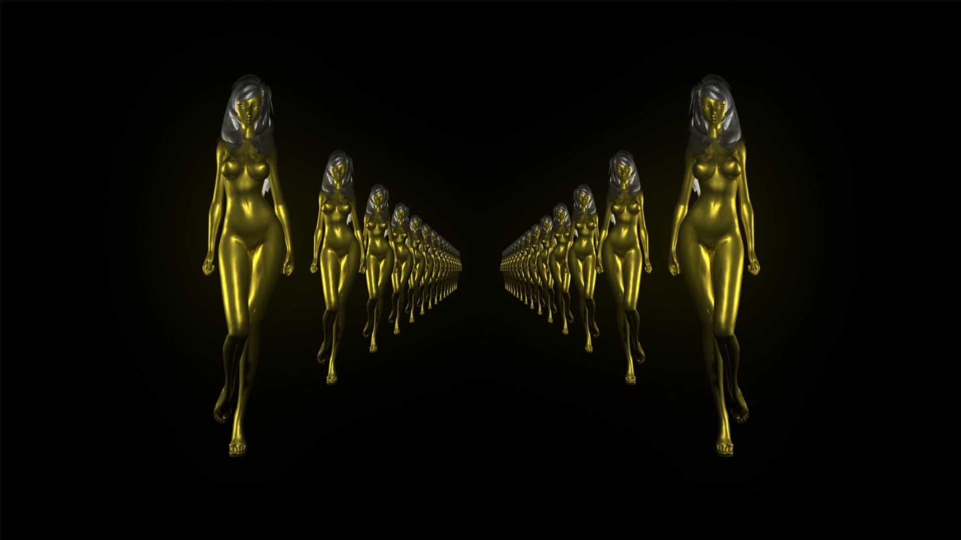 golden woman video