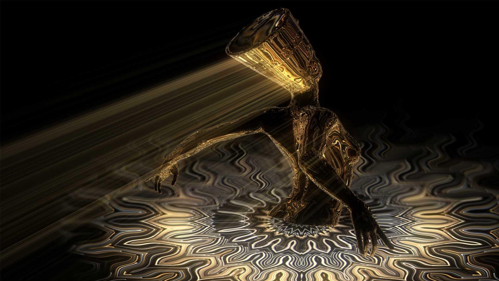 gold light video background madonna