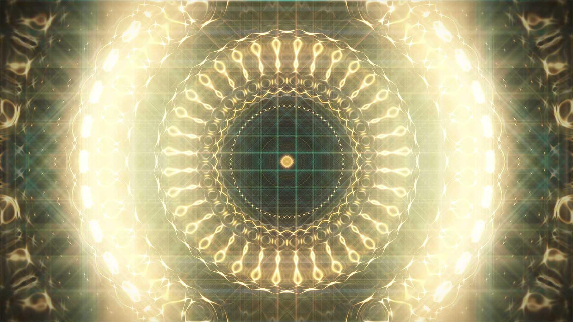 golden pattern motion background