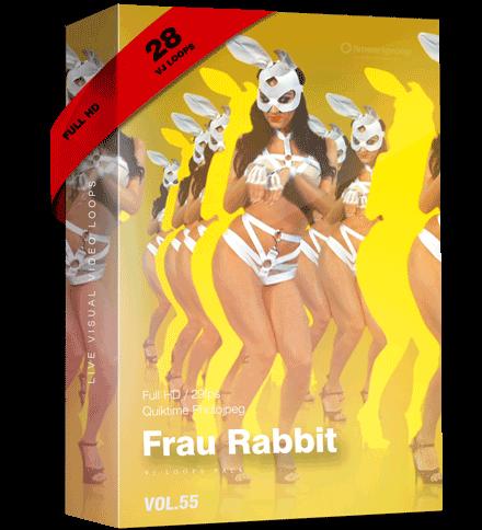 Frau-Rabbit Vj Loops