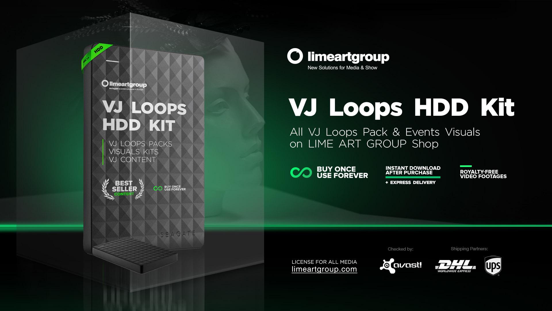 HDD-kit VJ Loops