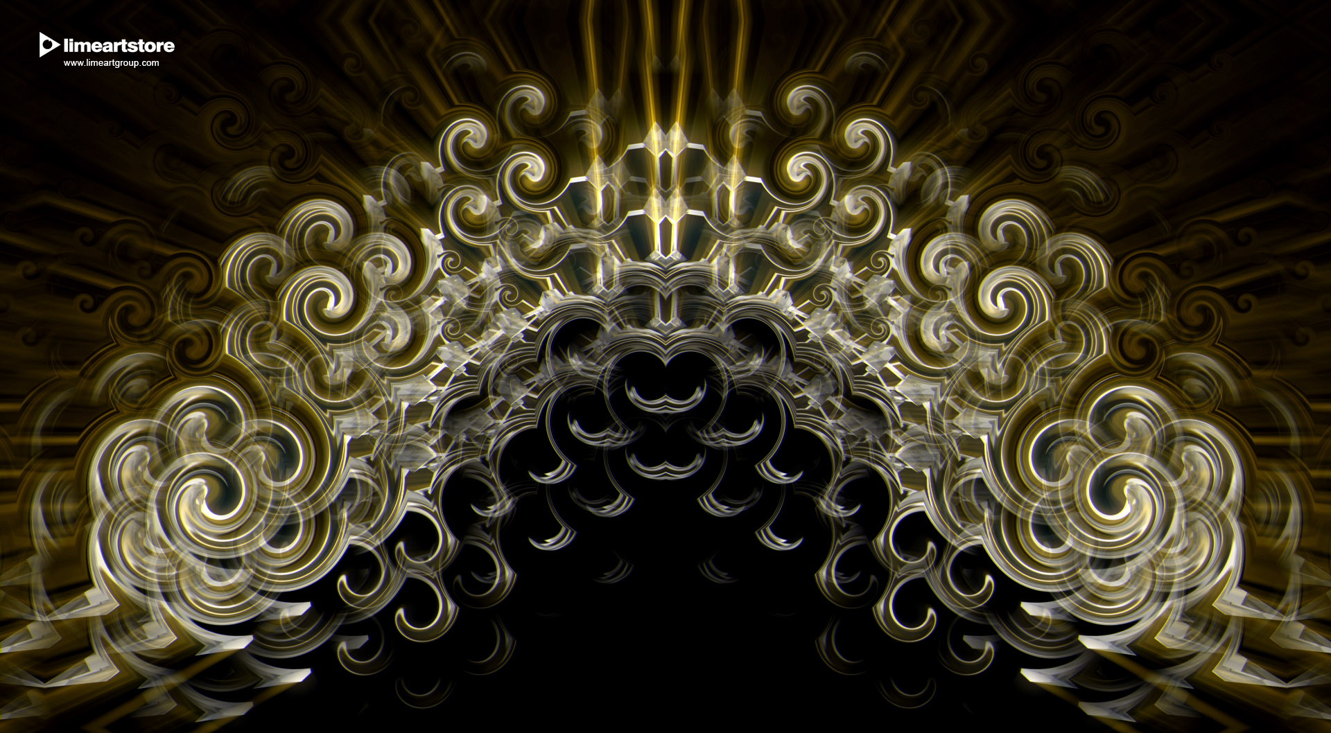 vj loop visual kit gold