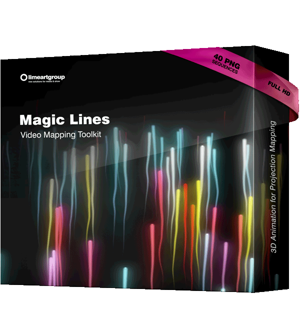 Motion Lines Projection Mapping toolkit