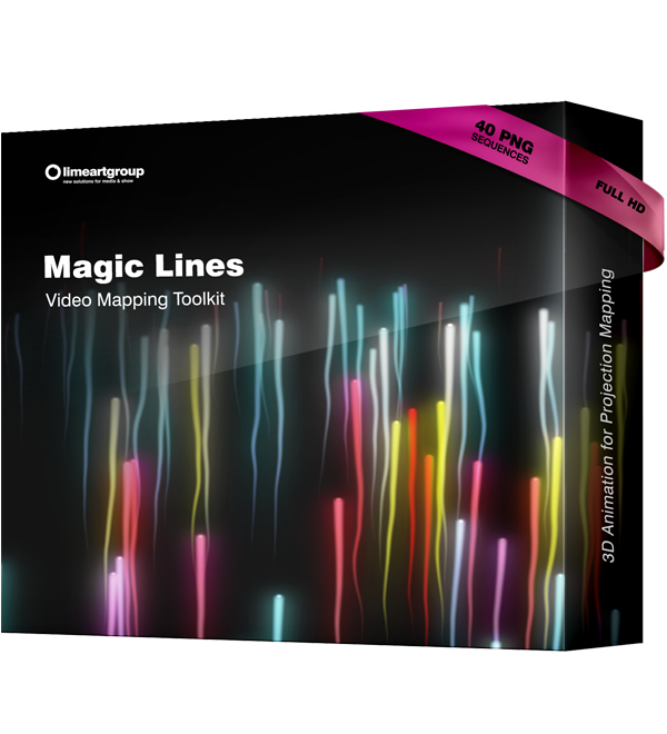 MAgic Lines Video Mapping