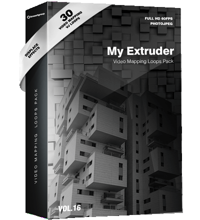 My-Extruder-Video-Mapping-Visuals