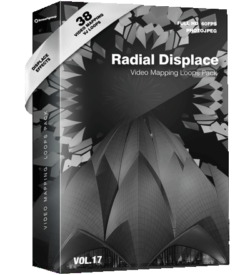 Radial-Displace-vj-loops Video Mapping Loops