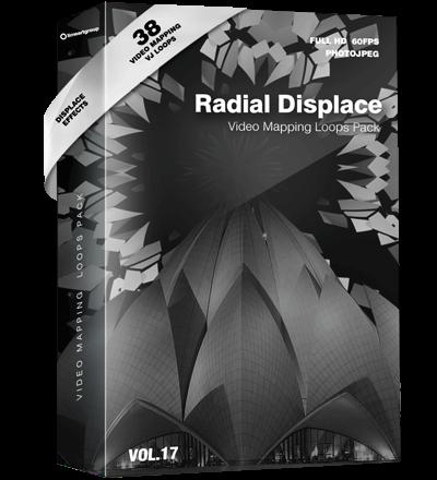 Radial-Displace-vj-loops Video Mapping Loops