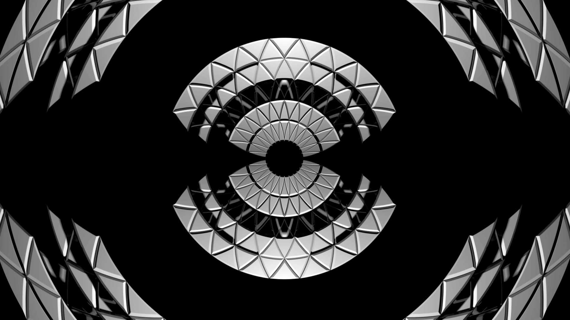 circle video mapping loop
