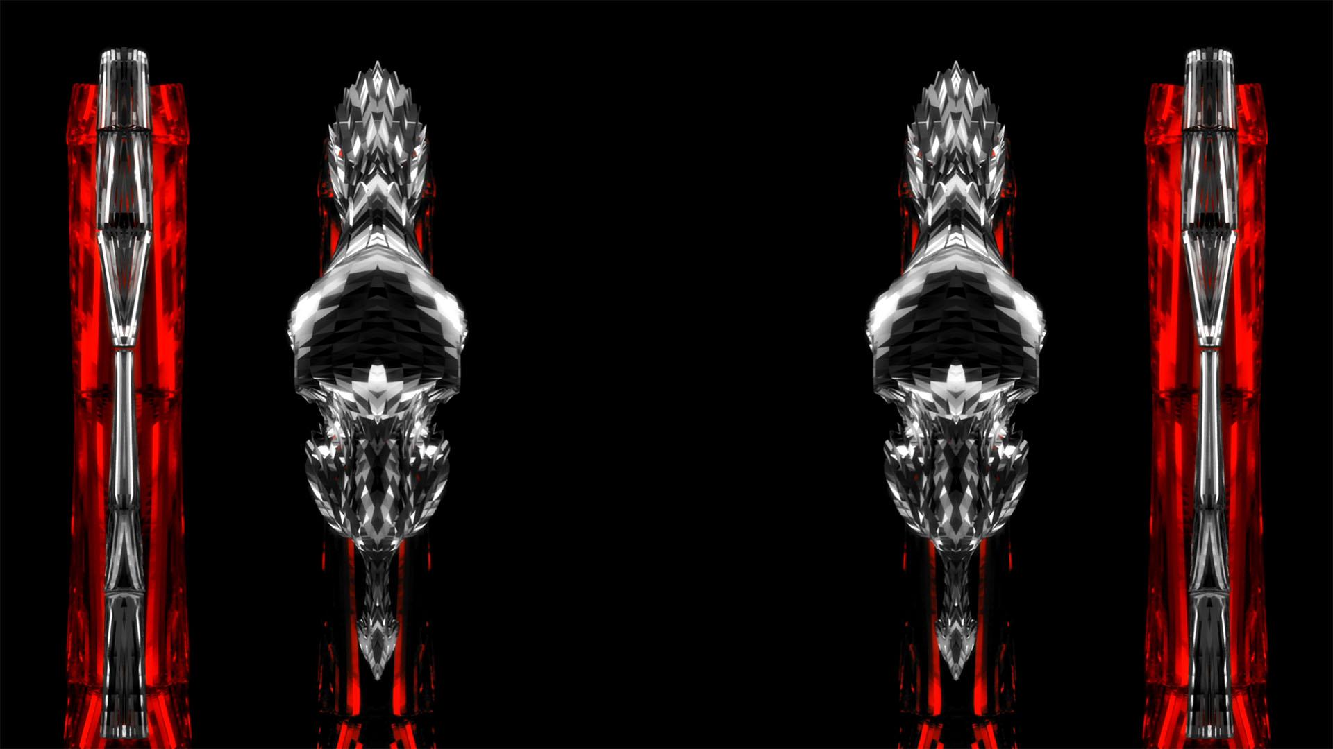 vj loops column visuals video animation