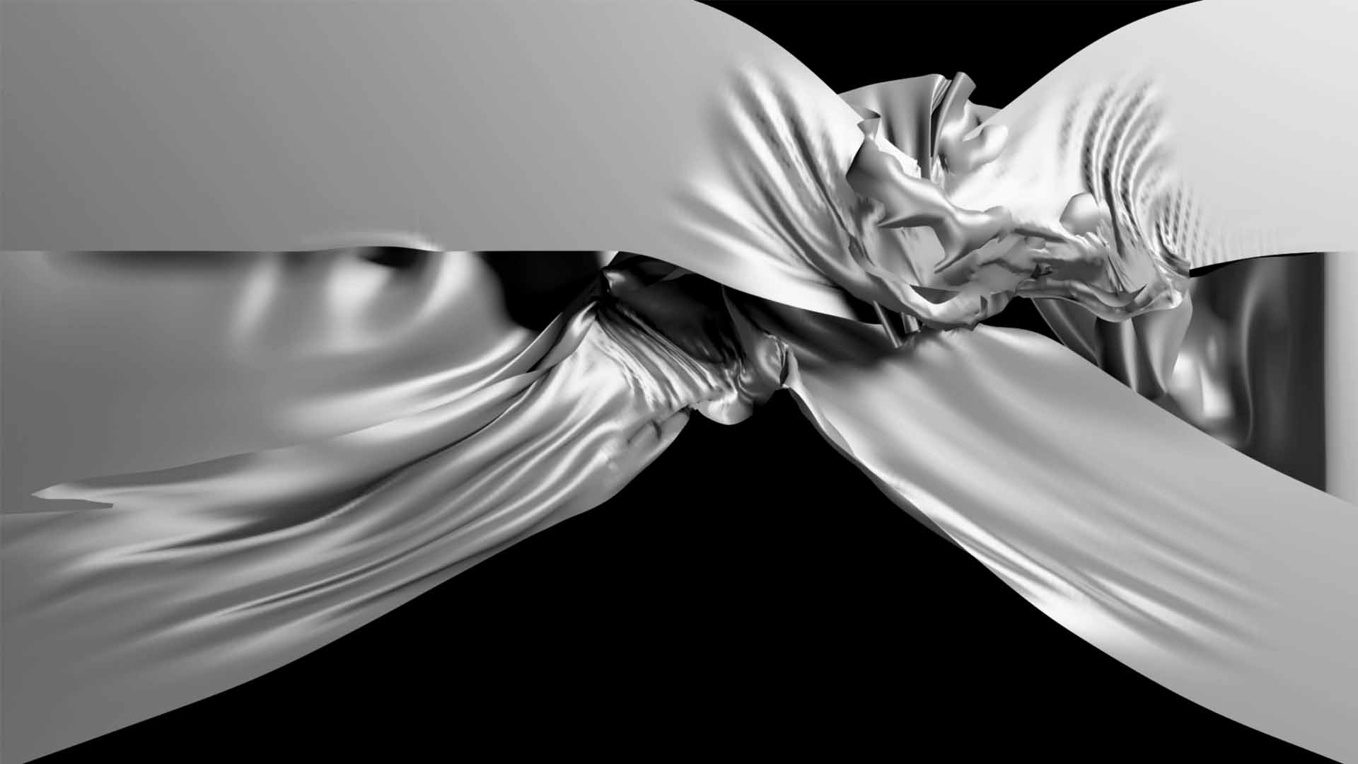 cloth 3d animation video loop