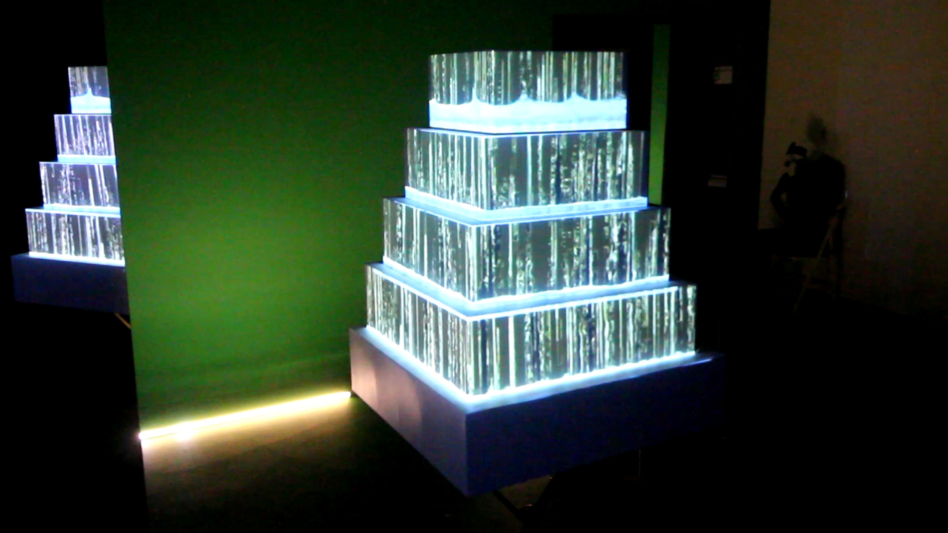 wedding cake video mapping loops