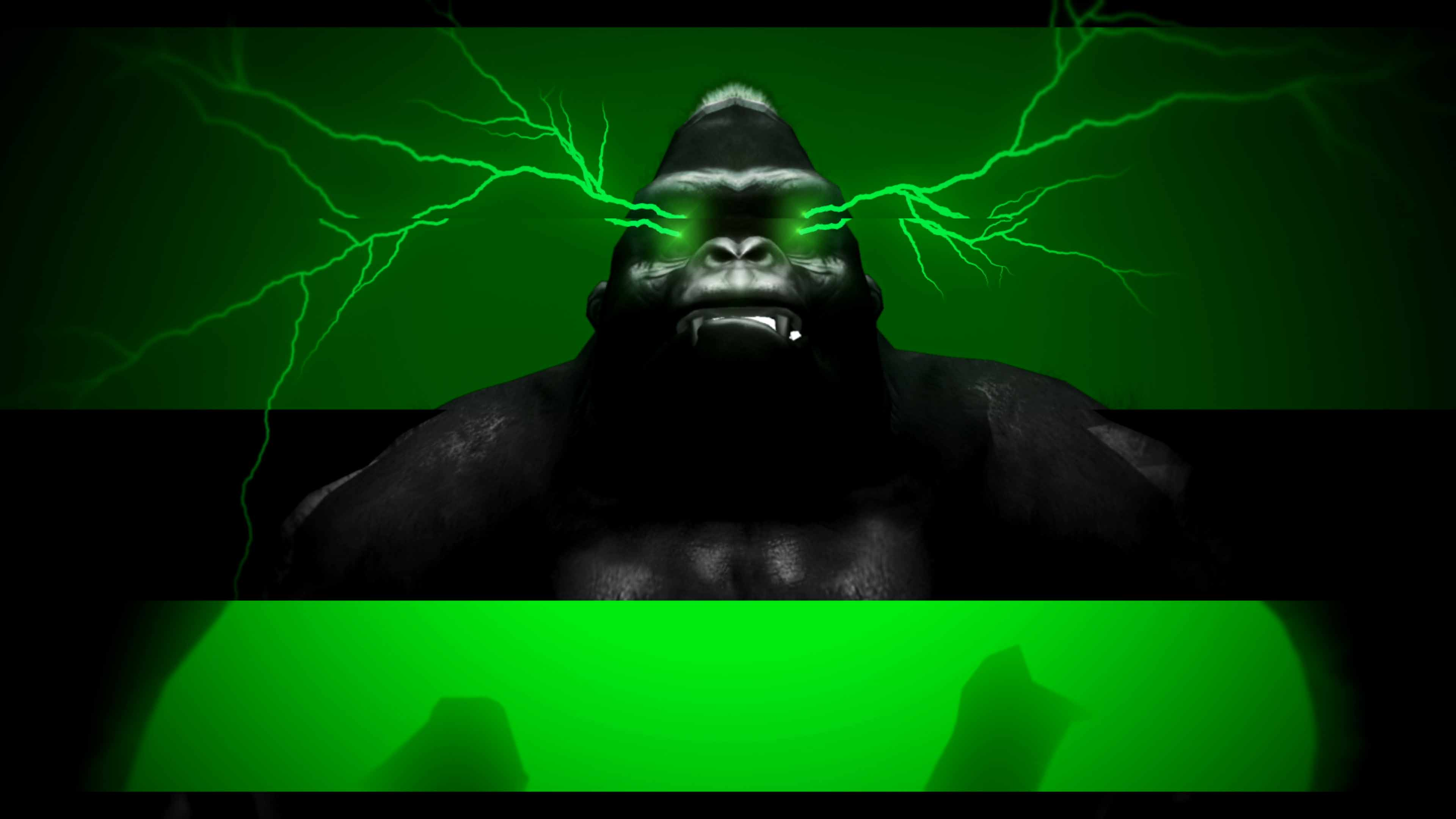 gorilla video wallpaper