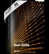 sun gate video animation event visuals