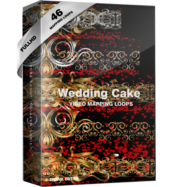 Wedding Cake Visuals video mapping
