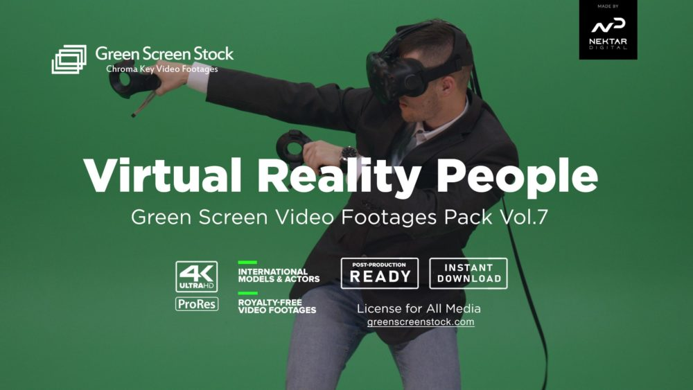green screen virtual reality
