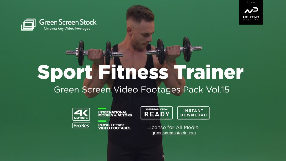 green screen fitness
